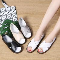 Sandals Women Summer Shoes Woman Plus Size 35-44 Fashion Slippers Loafers Flats Two Ways To Wear