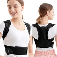 Support arrière Le correcteur de la posture prend en charge la clavicule, soulage la douleur à la colonne vertébrale et ajuste la sangle d'épaule