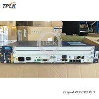 Original ZTE C320 OLT mit 1G / 10G SMXA Control Board DC Netzteil Faseroptikausrüstung