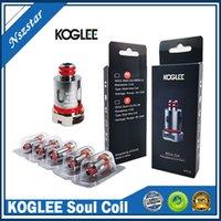 Original Koglee Soul Spule Kopf Mesh 0.3Ohm DC 0.8OHM Ersatz Duale Spulen für RPM 2 4 RPM40 RPM80 VAPE CARTRIDGE POD Pen Kits authentisch