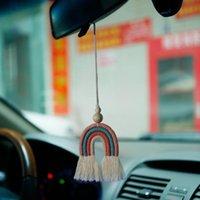 손으로 짠 물건 자동차 펜던트 유럽과 미국 복고풍 보헤미안 홈 EcoRations 코튼 라인 Macrame DIY 로프 짠 벽 아기 소녀 방 장식