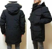 Winter Down Jacket top quality Mens Puffer Jackets big real wolf fur Hooded Thick warm parka doudoune Homme Outdoor coats coat upscale