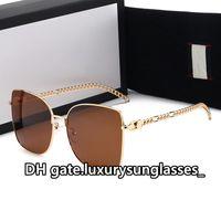 Yüksek Kaliteli Bayan Güneş Gözlüğü Kare Tam Çerçeve Moda 2021 Kulübü Klasik Parti GU2041 Lüks Polarize UV400 Sürüş Kedi Göz Güneş Glass des Lunettes de Soleil