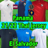 21/22 El Salvador soccer jerseys Alex Roldán Darwin Cerén Eriq Zavaleta Amando Moreno Narciso Orellana national team 2021 2022 football shirts