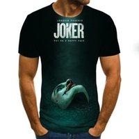 Clown T-shirt Männer / Frauen Joker Gesicht 3D bedruckte Terror Mode T-Shirts Größe XXS-6XL