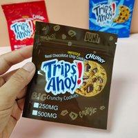 250mg 500mg ganna mantequilla picaduras viajes ahoy chip bolsa impresa comestible mylar olor a prueba de alimentos envases bolsas de galletas Runtz Baggie