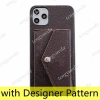 Top Fashion Designer Wallet Phone Cases for iphone 12 11 pro max XS XR Xsma 7 8plus High Quality Leather Card Holder Luxury Cellphone Cover wholesale