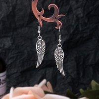 Dangle & Chandelier Fashion Angel Earrings For Women Ear Charm Feather Stud Paired Pendant Tassel Statement Drop