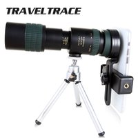 10-300x40 ZOOM Монокуляр для смартфонов ER складной телеобъектив прозрачные бинокль мощный охотничий телескоп HD длительный диапазон
