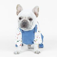 Dog Clothes Denim Jacket Fashion Pet For Puppy Chihuahua Dogs Cowboy Clothing Spring And Autumn Cat Coat Jeans Apparel
