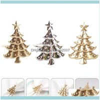 Aessories Kitchen, Dining Bar Home & Garden3Pcs Christmas Tree Shaped Rings Table Napkin Ring Dinner Decoration Drop Delivery 2021 2Zlus