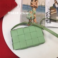 2021 Borse di alta qualità Borse da donna Real Pelle Maniglia Top Borse Tote Bags Luxury Fashion Design One Rhombus Borsa a tracolla Sheepskin
