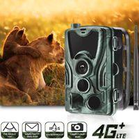 Suntekcam 4g Trail de chasse Cam FTP SMTP MMS 20mp 1080P HC-801LTE Wireless Cellular WeLowlife Cameras 0.3S IP65