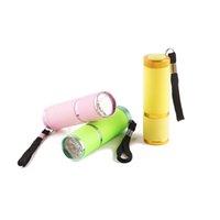 Mini lampe UV de haute qualité de haute qualité Professionnel Polish Sèche-lampe de poche 10S Cure rapide pour les ongles Choisir