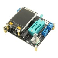 스마트 홈 제어 GM328A 다기능 트랜지스터 테스터 다이오드 커패시턴스 ESR 전압 주파수 측정기 PWM 구형파 신호 발생기
