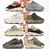 700 V2 Çocuk Koşu Ayakkabıları Bebek Yürüyor Koşucu Sneakers Kanye West Yez Bebek Çocuk Erkek ve Kız Chaussures Dökün Enfants EUR 26-35