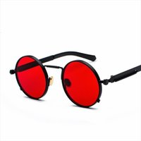 MyT 0135 Sunglasses de style punk Hommes Spring Spring Spring Mer Mirror jambes individuelles Femmes réfléchissantes Oculos UV400