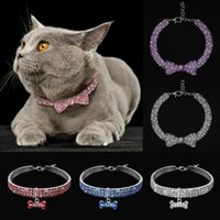 Bling Rhinestone Dog Cat Collar Crystal Puppy Chihuahua Pet Collars For Small Medium Dogs Cats Mascotas Accessories & Leashes