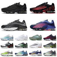 Nike Air Max TN Plus 3 Airmax 2 Tuned حذاء رياضي رجالي ونسائي للجري أحمر ليزر أزرق ثلاثي أسود كل شيء أبيض نمر أحمر قوس قزح أحذية رياضية أحذية