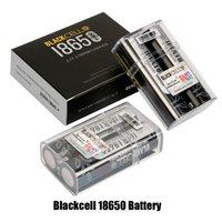 Authentische Blackcell IMR18650 Batterie 3100mAh 40A 3,7 V wiederaufladbare Lithium-Vape-Batterie-flacher oberer Hoher Abfluss 18650 Box Mod 100% echt