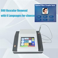 2021 Design doctor dermatologist used portable 980nm diode laser machine for Spider vein and vascular removal