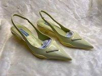 Bahar ve Yaz Yeni Ürünler Klasik Şeker Renk kadın Yüksek Topuk 3.0 cm Patent Deri Sivri Elbise Ayakkabı Lüks Işık Ruj Alt Düğün Ayakkabı 34-40