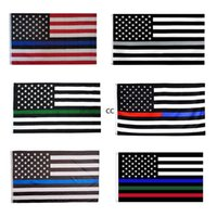 3x5ft Black American Flag Polyester No Quarter Will Be Given US USA Historical Protection Banner Flag Double-Sided Indoor Outdoor DHF10399