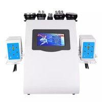 Beauty amincissant le produit 6 sur 1 40k Laser à vide radiofréquence RF Cavi Lipo Liposuccion Ultrasonic Machine de cavitation pour spa