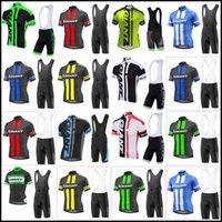 Dev Takım Bisiklet Kısa Kollu Jersey (BIB) Şort Setleri Hızlı Kuru Bisiklet İnce Kayış Yaz Bisiklet Giysileri Sportwear