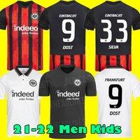 Eintracht Frankfurt Futbol Forması 2021 Die Adler Sow Silva Kostic Jovic 21 22 Futbol Üniforma Çocuk Kiti Hasebe Kamada Hinteegger Gömlek