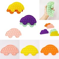 Push Fidget Desktop Toy Children's Math Math Calcolo mentale Gioco Silicone Stress Sollier Focused Squeeze Bubble Sensory Toy Gift G31903