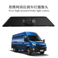 For IVECO Daily 4 Gen Car Rear View Brake Light HD Camera NTSC IP68 10M Video Cable Power Cord Ruler Line Nightmode Back Gauge PZ474