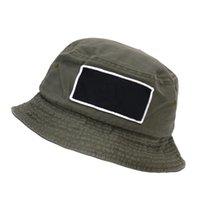 Dropship d101 marke sommer baumwolle fishermans hut sonne schützende breite rand hüte für outdoor reise sport basin cap grün schwarz 2 farben