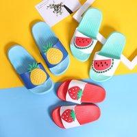 Slipper Summer Casual Girls Boys Slippers Non Slip Beach Swimming Children Flip Flops Cute Cartoon Fruit Baby EUR Size 24-37