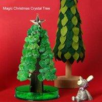 Christmas Decorations Trees Magic Growing Tree Toy Boys Girl Crystal Fun Xmas Gift Stocking Filler Decor