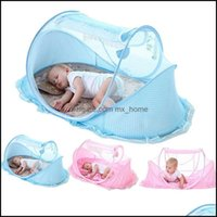 Supplies Textiles Home & Garden0-3 Years Bedding Net Portable Foldable Baby Crib Mosquito Netting Cotton Sleep Travel Bed Set Drop Delivery