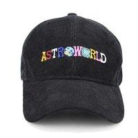 gorra de béisbol sombrero para hombres y mujeres gorra de béisbol otoño invierno verano sombrero astroworld letra bordado hip hop moda