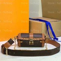 حقائب اليد المميزة بابيلون مصمم Papillon M57835 مصمم حقائب اليد الورم الحطب