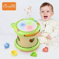 Tumama детские музыкальные игрушки рука барабаны дети музыкальные инструменты pat барабан детские игрушки 6-12 месяцев развивающие игрушки дети детей 210329