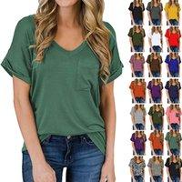Women Cats Tops Summer Shirts Oversized T-shirt Top Women Luipaard Pocket Plus Size Clothing Woman 2021 Fashion New T-shirts