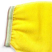 Marruecos BAÑO FRUTADO EXFOLICIDO Guantes Hammam Scrub Mitt Mitt Magic Peeling Glove Exfoliante Mancha de eliminación de Tan (sentimiento grueso normal) 305 R2