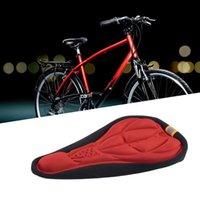 Saddles de vélo 3 couleurs Selle de vélo 3D Couverture de siège cycliste souple MTB Mountain Éponge Sponge Pad à l'extérieur Coussin respirant