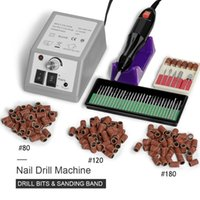 Nail Drill & Accessories Machine Set Polish Equipment Kit Supplies Professional Electric Pedicure Nails Cutters For Manicure