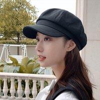 Casual Outdoor Warm Winter Cap Girl Women Adjustable Pattern Faux Fur Baseball Cotton Hip Hop Hat Visor