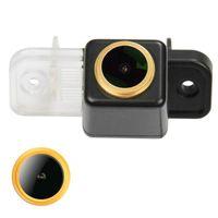 Vue arrière de la voiture Caméras Capteurs de stationnement HD 720P Caméra imperméable doré pour MB - W211 / W212 W218 W219 2004-2013