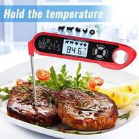 فرن اللحوم الآمن لحظة قراءة 2 في 1 المزدوج مسبار الغذاء ميزان الحرارة الرقمية مع وظيفة المنبه للطهي شواء التدخين الشواء مطبخ HWF9631