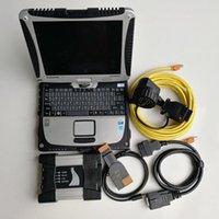 Strumenti diagnostici ICOM Successivo A2 + B + C + 1TB HDD con V06.2021 Software ISTA-D 4.23 ISTA-P 3.67 Toughbook usato CF-19 4G per Diagnosi auto