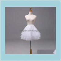Kinder tragen, Party EventsSchwarze Kinder Petticoats Hochzeit Braut Asoresen Halbschlüssel Kleine Mädchen Crinoline 22cm 35 45 cm Blumenmädchen Forma