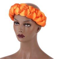 La fascia esagerata Big Satin Sponge Labband può essere equipaggiata con un turbante Accessori per capelli decorativi per capelli Twist Trecce