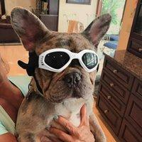 Moda Serin Evcil Hayvanlar Açık Katlanabilir Pet Köpek Gözlük Güneş Gözlüğü Yavru Gözlük Prop Ürünleri Giyim